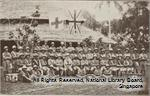 The Singapore Volunteer Field Ambulance Company at Tanglin Barracks Military Hospital in 1917