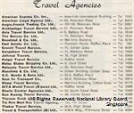List of travel agencies in Singapore, 1960s - BookSG - National